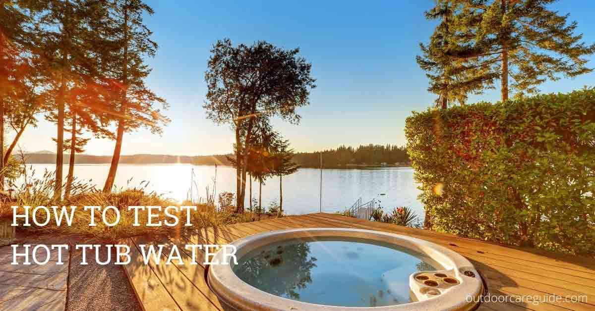 hot tub water testing