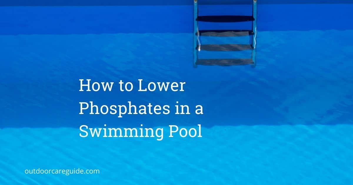 how to lower phosphates in swimming pool